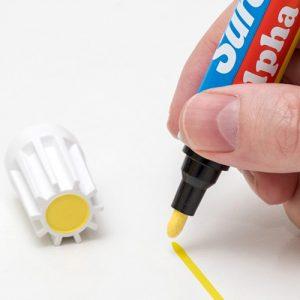 Suremark paint marker-alpha-60-met tweezijdige punt